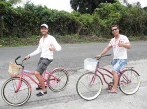 Bicis en Bocas del Toro