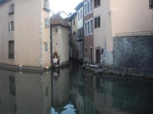 calles y casco antigo Annecy