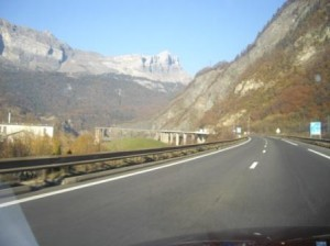 Puente entraca Chamonix
