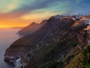 El mirador mas bello del mundo - Grecia