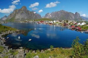 Entorno natura increible en Noruega - Reine